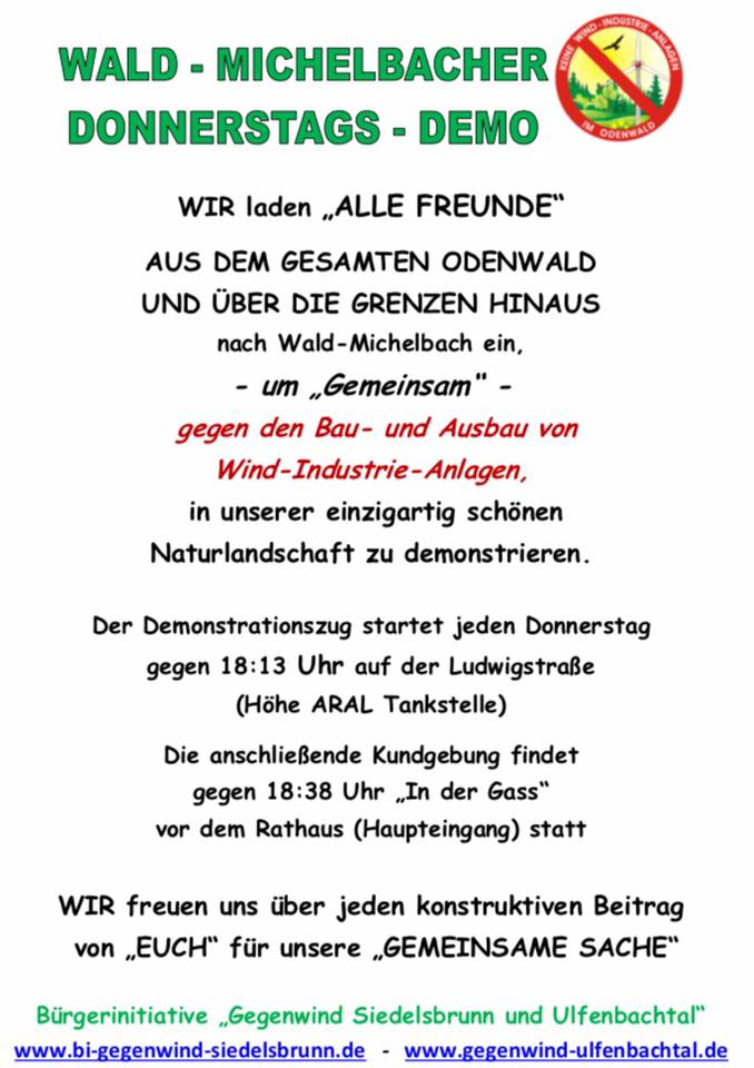 Donnerstags demo 18uhr2